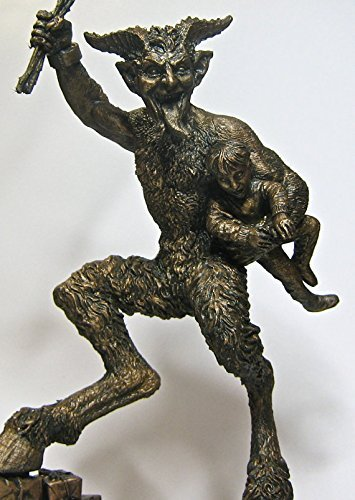 Krampus Statue II, Bronze Finish