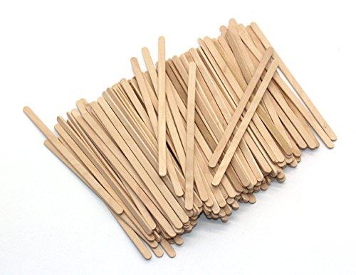 Tea Wood Coffee Stir Sticks Wooden Stirrers 5.5 Inch 500 PCs ()