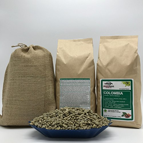 unroasted coffee beans whole - 1