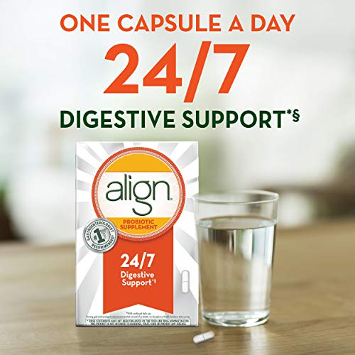 Align Probiotics Supplement for Digestive Health in Adult Men and Women, 63 Probiotic Capsules - Bifidobacterium 35624 - #1 Doctor Recommended Probiotics Brand by Align (Image #3)