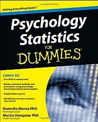 Psychology Statistics For Dummies