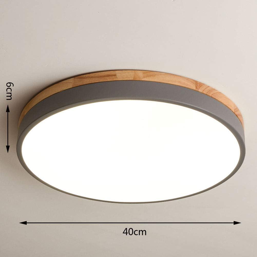 Nordische Deckenlampe Runde Schlafzimmerlampe Einfache Moderne Arbeitslampe Kleine Wohnung Gang Balkon Führte Kreative Lampen(?60cm48W) ?40cm28w