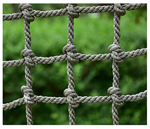 Climbing Nets for Kids,Cargo Rope Ladder Safety Net Truck Trailer Heavy Duty Netting Balcony Banister Stair Protection Fence Decor Mesh Nets,for Container Grid Rail Playground Adults Outdoor Safe Net