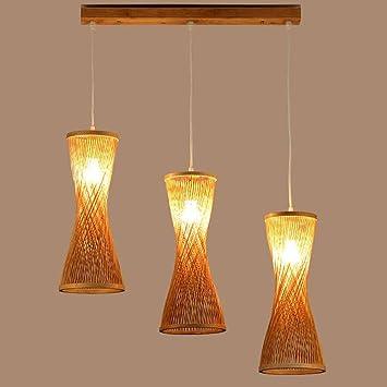 YYF Leuchter Moderne Kreative Mode Bambus Kronleuchter Esszimmer  Treppenhaus Kronleuchter