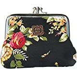 Cute Classic Floral Exquisite Buckle Coin Purse
