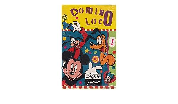 Naipes Heraclio Fournier Baraja Juego Domino Loco Disney 1995: Amazon.es: Juguetes y juegos