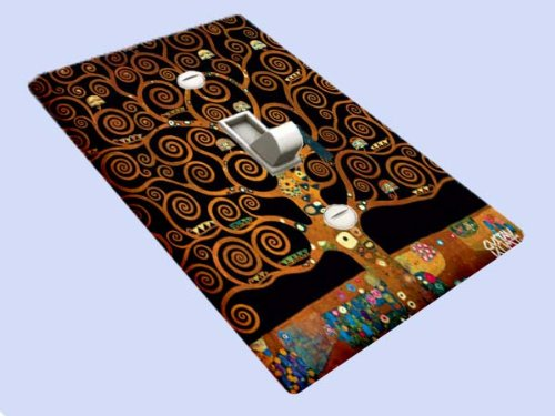Gustav Klimt Under the Tree of Life Decorative Switchplate - Switchplates Covers And Outlet