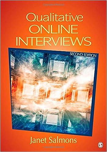Qualitative Online Interviews: Strategies, Design, and Skills ...