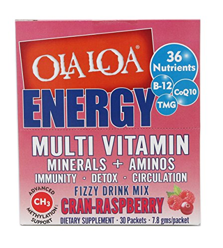 Effervescent Powder Packets (Ola Loa - Ola Ola Multi Cran-Rasp, 30 packets)
