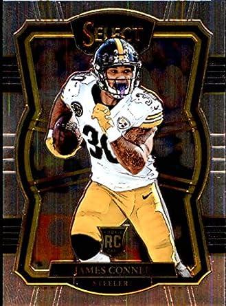 18418e5fe70 Amazon.com: 2017 Panini Select #196 James Conner Pittsburgh Steelers ...