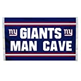 NFL York Giants Man Cave Flag with 4 Grommets, 3