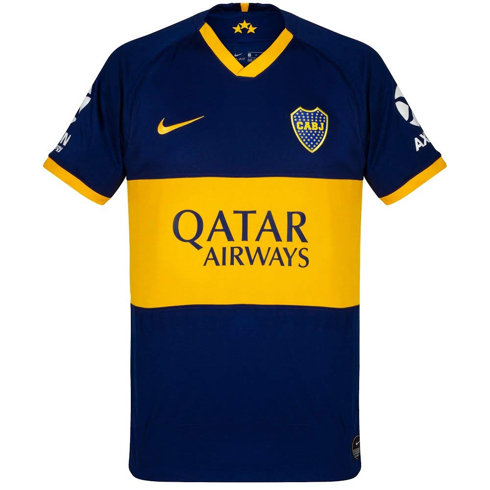 Nike Boca M Nk BRT Stad JSY SS Hm Camiseta Hombre