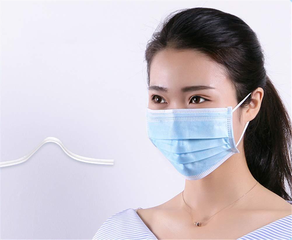 PENGYARU Las mascarillas médicas, máscaras Desechables médicos, 3 Capas/Anti-neblina/máscaras de protección sensibles a/estéril nasales, 20/1 Paquete