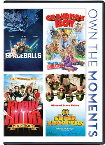 Spaceballs / Grandma's Boy / Robin Hood Men in Tights / Super Troopers Quadruple -