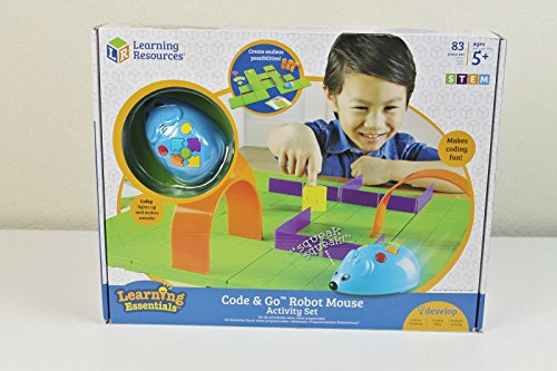 Learning Resources Code & Go Robot Mouse Activity Set Programmable by Robot Mouse