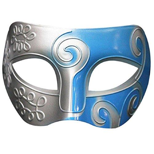 Retro Roman Gladiator Swordsman Halloween Party Masks Masquerade Mask (one size, -