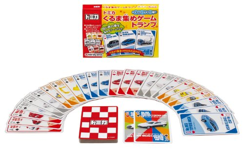 Games Playing cards collected Tomica car (japan import) by Hanayama