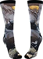Batman Dark Knight Sublimated Crew Socks