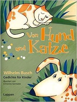 Weihnachtsgedichte Von Wilhelm Busch.Von Hund Und Katze Wilhelm Busch Gedichte Für Kinder Amazon De