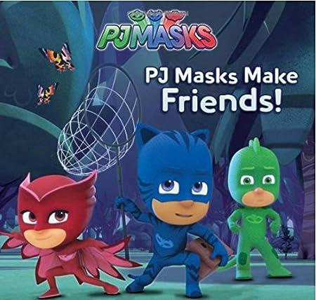 Amazon.com: PJ Masks Make Friends! Paperback Book & PJ Masks Headquarters Track Playset Play Set Bundle Gift Set for Kids for Birthdays, Holidays and ...