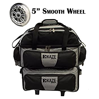 Image of Bowling Roller Bags KAZE SPORTS 4 Ball Double Deck Bowling Roller