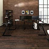 Walker Edison Furniture Company Modern Corner L