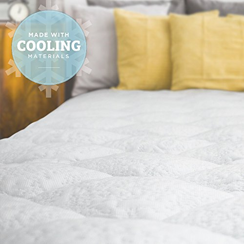 cooling-mattress-pad-with-fitted-skirt-extra-plush-heat-extracting-topper-made-in-the-usa-queen