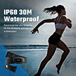 SHANREN Beat 20 Heart Rate Monitor [2019 Upgrade] Chest Strap Fitness Tracker Support Bluetooth and ANT+, Rechargeable Heart Rate Sensor with Vibration Alert, IP68 Waterproof Smart Activity Tracker