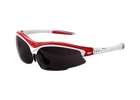 Occhiali da sole professionali con 3lenti intercambiabili fibra di carbonio per ciclismo UV400Astuccio e Borsa 3068rj pMFOyhp