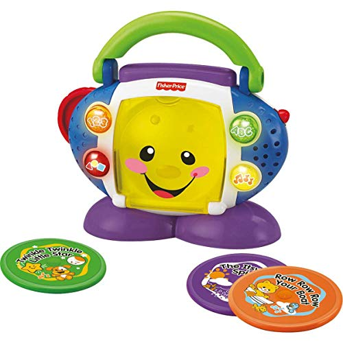 CD Player Aprender e Brincar, Fisher Price, Mattel
