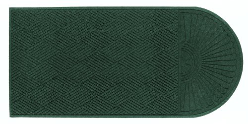 Andersen 273 Waterhog Grand Classic Polypropylene Fiber Single End Entrance Indoor/Outdoor Floor Mat, SBR Rubber Backing, 5.5' Length x 3' Width, 3/8