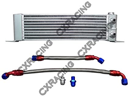 Amazon Com Cxracing Oil Cooler Line Fitting Kit For Mazda Rx7 Rx 7
