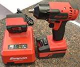Snap-On CT8810 3/8' Dr. 18V MonsterLithium Cordless Impact Wrench with 2-Batteries and Charger