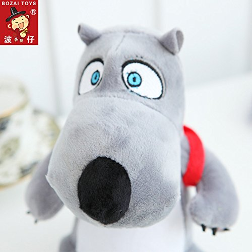 Amazon.com : Aliexpress new 18CM gray fool backpack bear plush toys wholesale lovely pp cotton soft toys childrens gift dolls : Baby