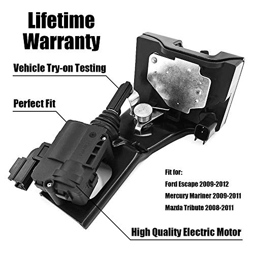 FEXON Liftgate Actuator 937-663 Fit 2009 2010 2011 2012 Ford Escape Rear Trunk Latch Door Lock 9L8Z-7843150-B for 2009-2011 Mercury Mariner Tailgate Lock Actuator 9L8Z7843150B 2008-2011 Mazda -