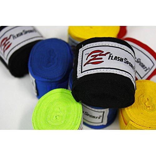 フラッシュ伸縮性スポーツ/伸縮Professional 180-inch Hand Wraps forボクシングキックボクシングムエタイ総合格闘技。クラス (、ジム Wraps Hand、またはホームWorkouts |メンズ、レディース、kids- ( 2 - Pack ) ネオングリーン B0761Y7FWL, サイカイチョウ:fee8fc14 --- capela.dominiotemporario.com