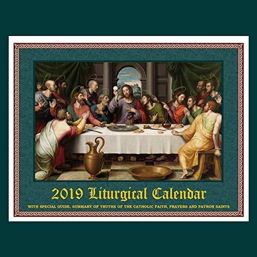 2019 Traditional Catholic Latin Mass Wall Calendar ()