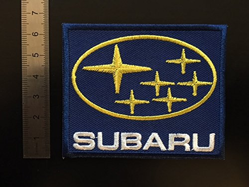 ECUSSON PATCHES AUFNAHER TOPPA - SUBARU - THERMOCOLLANT BLUE HAWAI