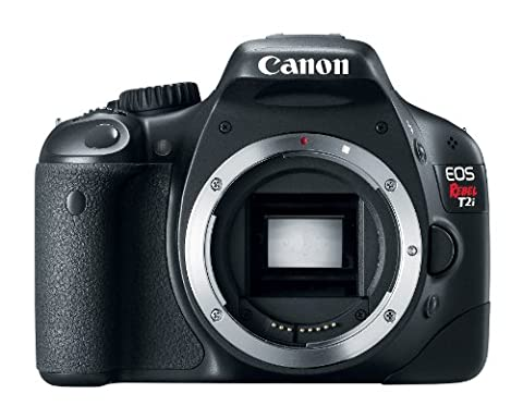 Canon EOS Rebel T2i DSLR Camera (Body Only) (Discontinued by Manufacturer) (Digital Rebel Body)