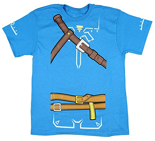 Bioworld Zelda Breath of The Wild Boys Cosplay Youth T-Shirt