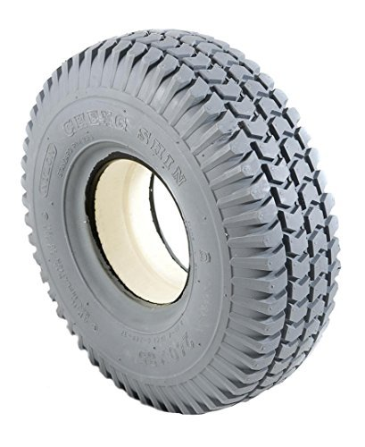 2 Grey Solid Block C248 Tread Mobility Scooter Tyres 260 x 85 (3.00-4)