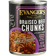 Super Premium Braised Beef Chunks with Gravy for Dogs