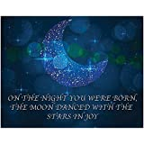 On The Night You Were Born Print - 11x14 Unframed Art Print - A Great Gift for a Newborn or Child's Room