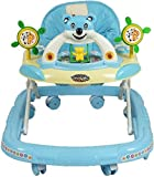 Truphe Baby Walker With Music (Made In India) (Blue)