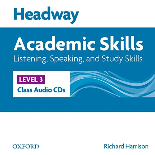 Headway 3 Academic Skills Listening and Speaking Class Audio CDs ebook