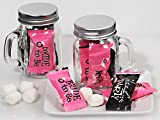 Mint Candy Favors with Mason Jar Girls Night Out Design