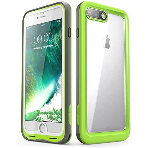 iPhone 7 Plus Hülle, iPhone 8 Plus Hülle, i-Blason Wasserdicht Schutzhülle Ganzkörper Case Cover Rugged Handyhülle mit eingebautem Displayschutz für Apple iPhone 7 Plus / iPhone 8 Plus, Grün