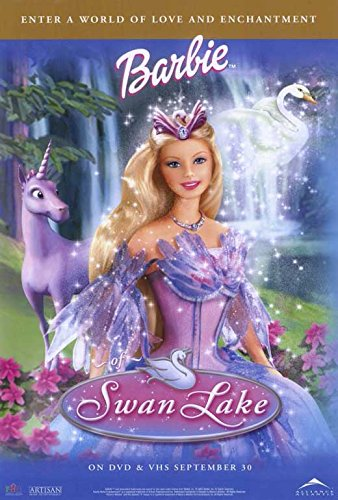 Lake Movie Poster - Barbie of Swan Lake POSTER (27