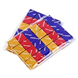 200ct Adhesive Treat Bags 6x9 Clear - 1.4 mils