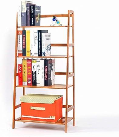 DMMW Estante para Libros Escalera Simple Estante librero Multifuncional Soporte de exhibición for la Sala de Estar Dormitorio Bastidor de Almacenamiento para Sala de Estudio: Amazon.es: Hogar